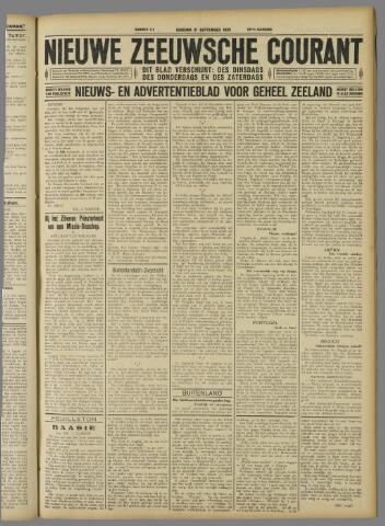 Nieuwe Zeeuwsche Courant 1926-09-21