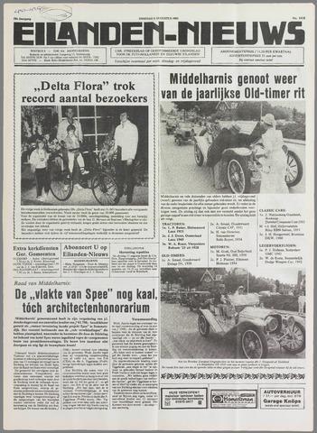 Eilanden-nieuws. Christelijk streekblad op gereformeerde grondslag 1985-08-06