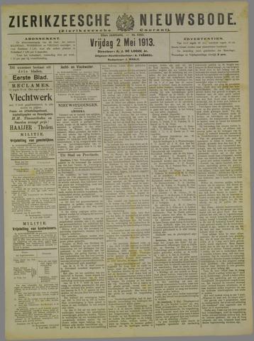 Zierikzeesche Nieuwsbode 1913-05-02