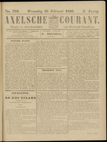 Axelsche Courant 1890-02-26