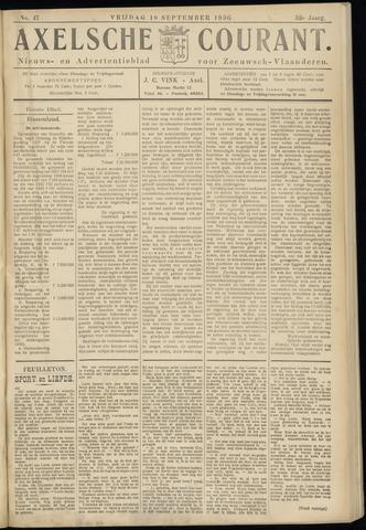 Axelsche Courant 1936-09-18