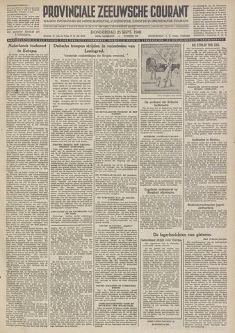 Provinciale Zeeuwse Courant 1941-09-25