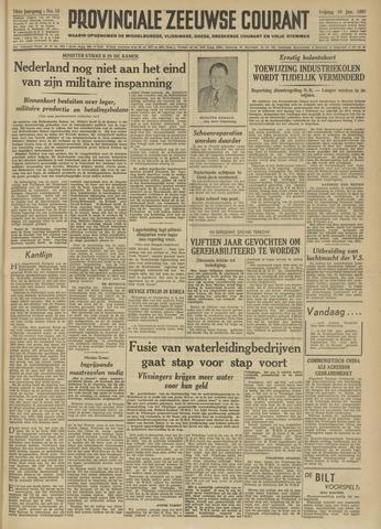 Provinciale Zeeuwse Courant 1951-01-19