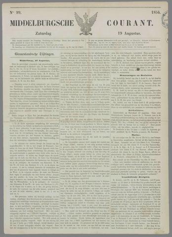 Middelburgsche Courant 1854-08-19