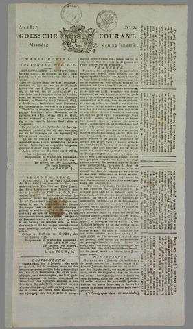 Goessche Courant 1827-01-22