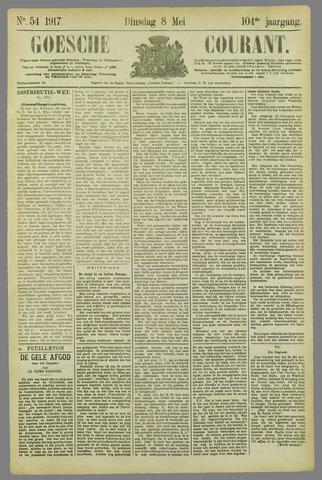 Goessche Courant 1917-05-08