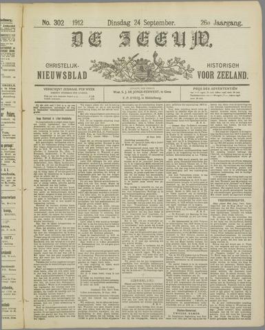 De Zeeuw. Christelijk-historisch nieuwsblad voor Zeeland 1912-09-24