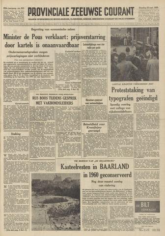 Provinciale Zeeuwse Courant 1959-09-22