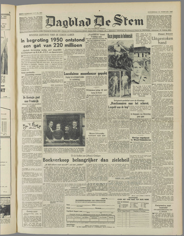 de Stem 1950-02-23