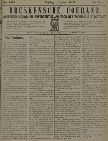 Breskensche Courant 1909