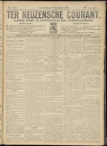 Ter Neuzensche Courant. Algemeen Nieuws- en Advertentieblad voor Zeeuwsch-Vlaanderen / Neuzensche Courant ... (idem) / (Algemeen) nieuws en advertentieblad voor Zeeuwsch-Vlaanderen 1920-12-16