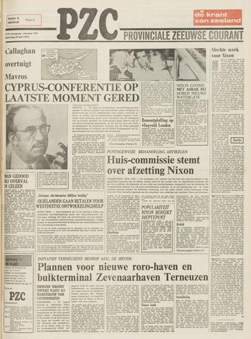 Provinciale Zeeuwse Courant 1974-07-27