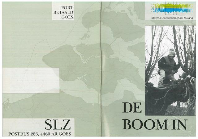 Landschapsbeheer Zeeland - de Boom in 1999-10-01