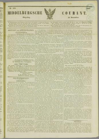 Middelburgsche Courant 1847-12-28