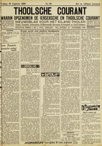 Ierseksche en Thoolsche Courant 1938-08-19