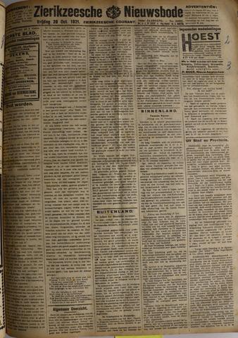 Zierikzeesche Nieuwsbode 1921-10-28