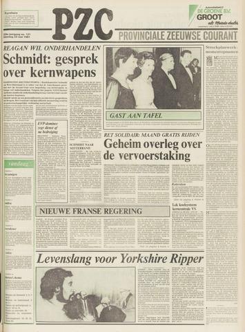 Provinciale Zeeuwse Courant 1981-05-23