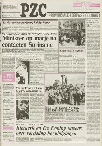 Provinciale Zeeuwse Courant 1984-07-05