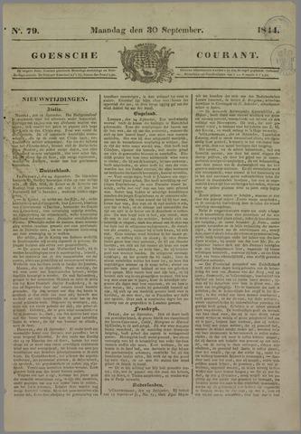 Goessche Courant 1844-09-30