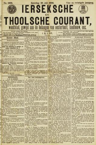 Ierseksche en Thoolsche Courant 1906-07-28