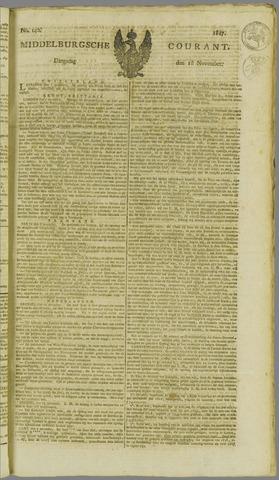 Middelburgsche Courant 1817-11-18