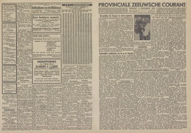 Provinciale Zeeuwse Courant 1942-12-08
