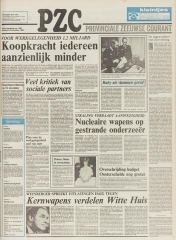 Provinciale Zeeuwse Courant 1981-11-06