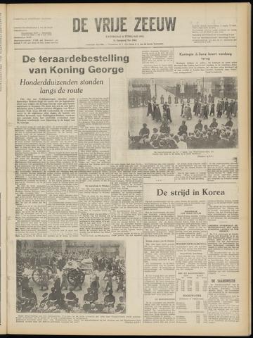 de Vrije Zeeuw 1952-02-16