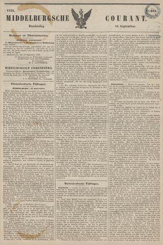 Middelburgsche Courant 1852-09-16