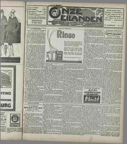 Onze Eilanden 1927-05-04