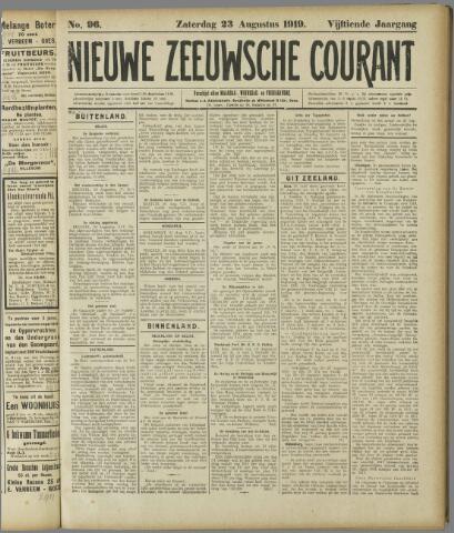 Nieuwe Zeeuwsche Courant 1919-08-23