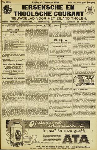 Ierseksche en Thoolsche Courant 1930-12-12