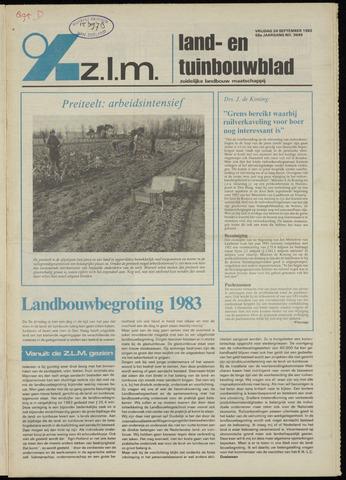 Zeeuwsch landbouwblad ... ZLM land- en tuinbouwblad 1982-09-24