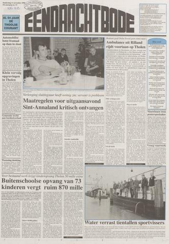 Eendrachtbode (1945-heden)/Mededeelingenblad voor het eiland Tholen (1944/45) 1999-11-11
