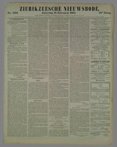 Zierikzeesche Nieuwsbode 1882-02-18