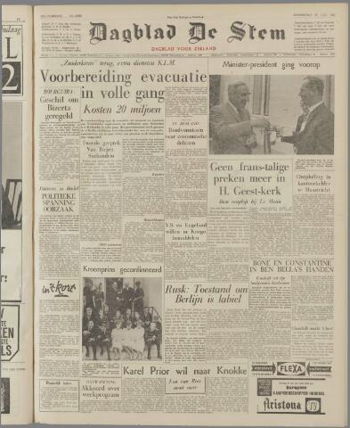 de Stem 1962-07-26