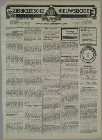 Zierikzeesche Nieuwsbode 1937-06-07