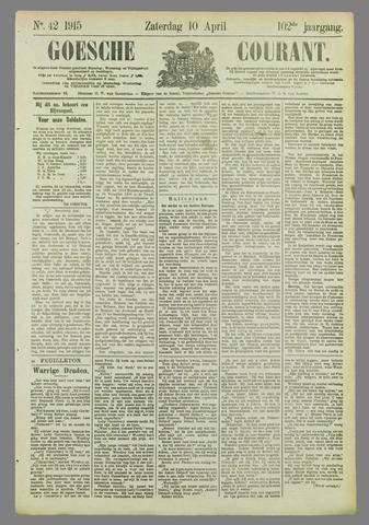 Goessche Courant 1915-04-10
