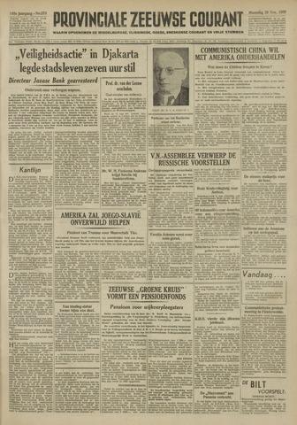 Provinciale Zeeuwse Courant 1950-11-20