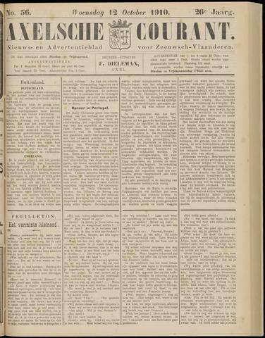 Axelsche Courant 1910-10-12