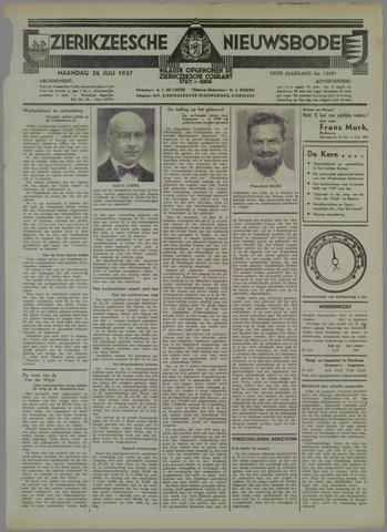 Zierikzeesche Nieuwsbode 1937-07-26