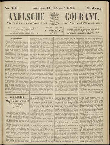 Axelsche Courant 1894-02-17