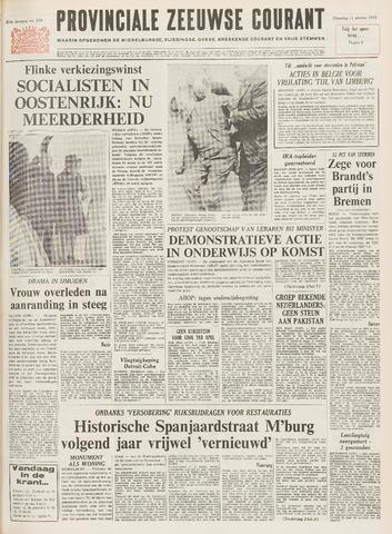 Provinciale Zeeuwse Courant 1971-10-11