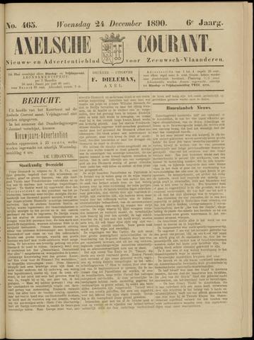Axelsche Courant 1890-12-24