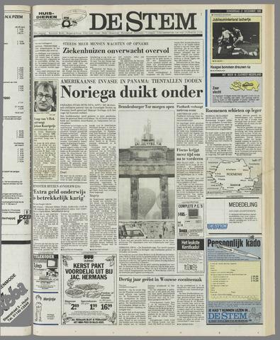 de Stem 1989-12-21