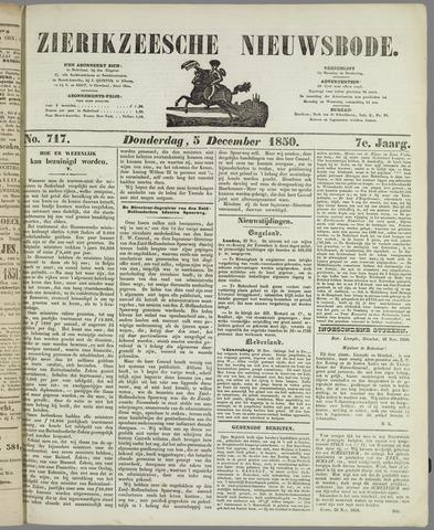 Zierikzeesche Nieuwsbode 1850-12-05