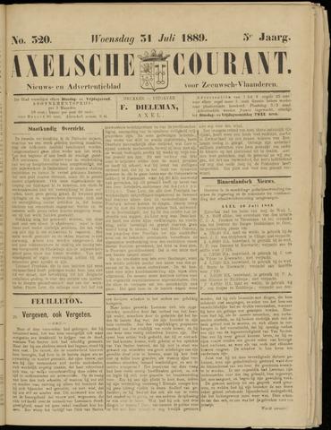 Axelsche Courant 1889-07-31