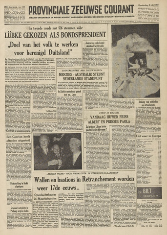Provinciale Zeeuwse Courant 1959-07-02