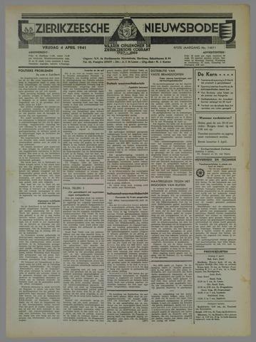Zierikzeesche Nieuwsbode 1941-04-04