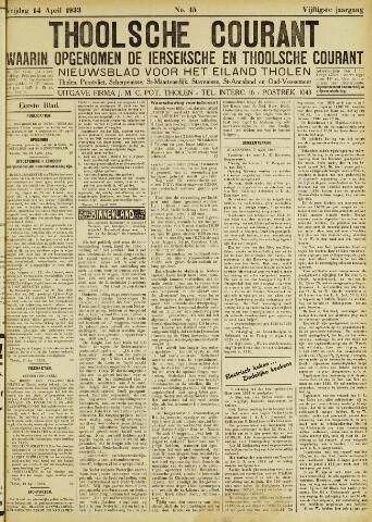 Ierseksche en Thoolsche Courant 1933-04-14